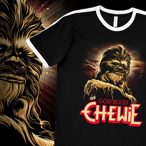 teeVillain: God Bless Chewie