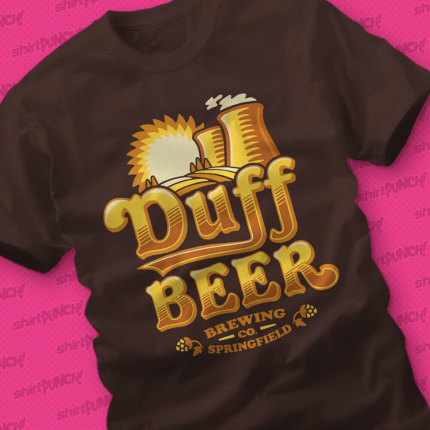 ShirtPunch: Duff Brewing Co.