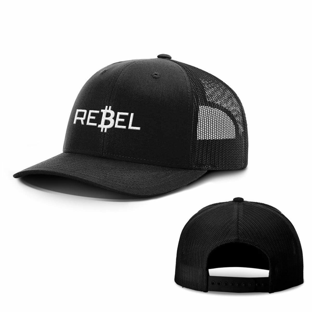 BustedTees: Rebel Bitcoin Hats