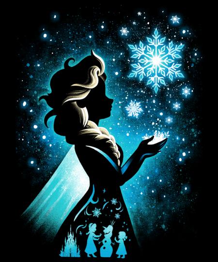 Qwertee: The Snow Queen