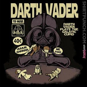 ShirtPunch: Darth Cupid