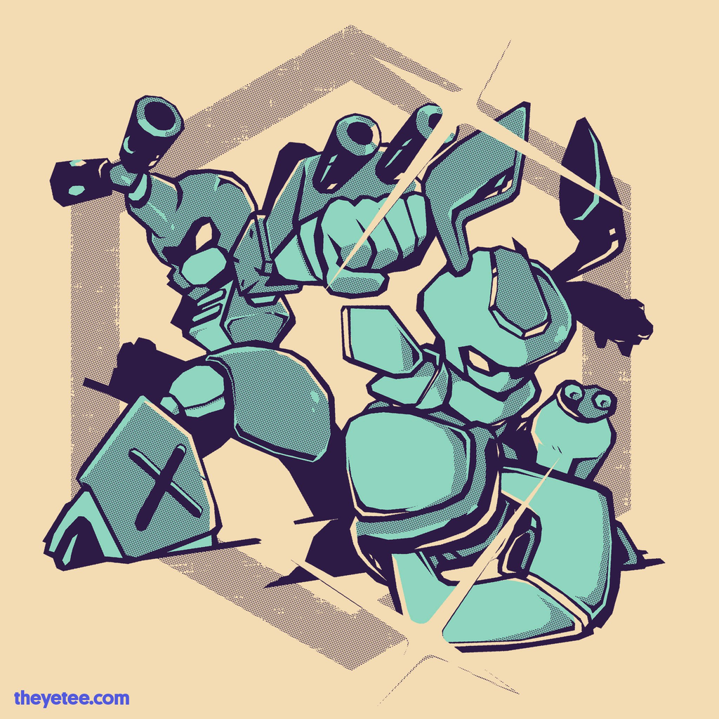 The Yetee: Robot Battle