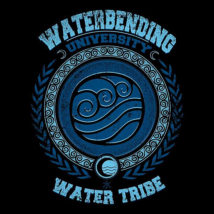 Once Upon a Tee: Waterbending University