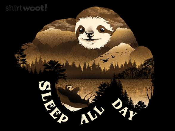 Woot!: Sleep All Day