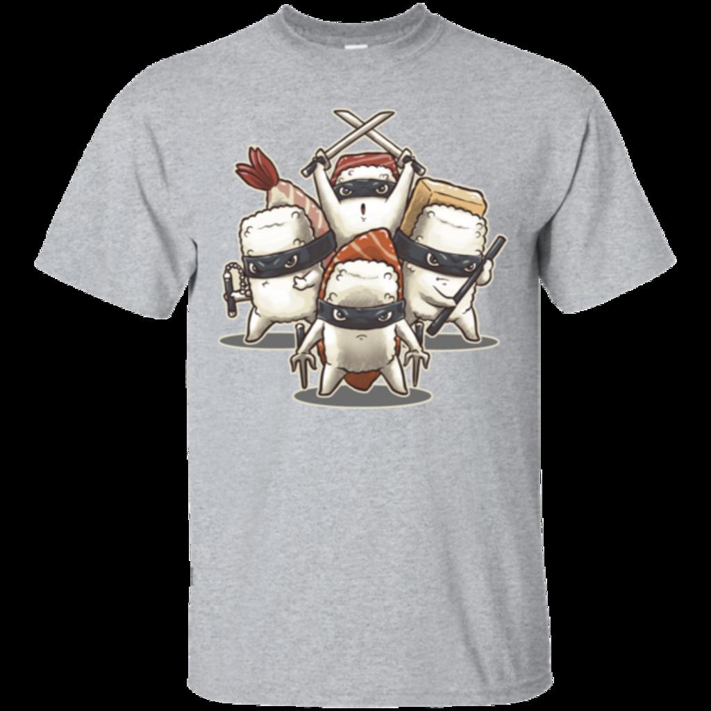 Pop-Up Tee: Ninja Sushi