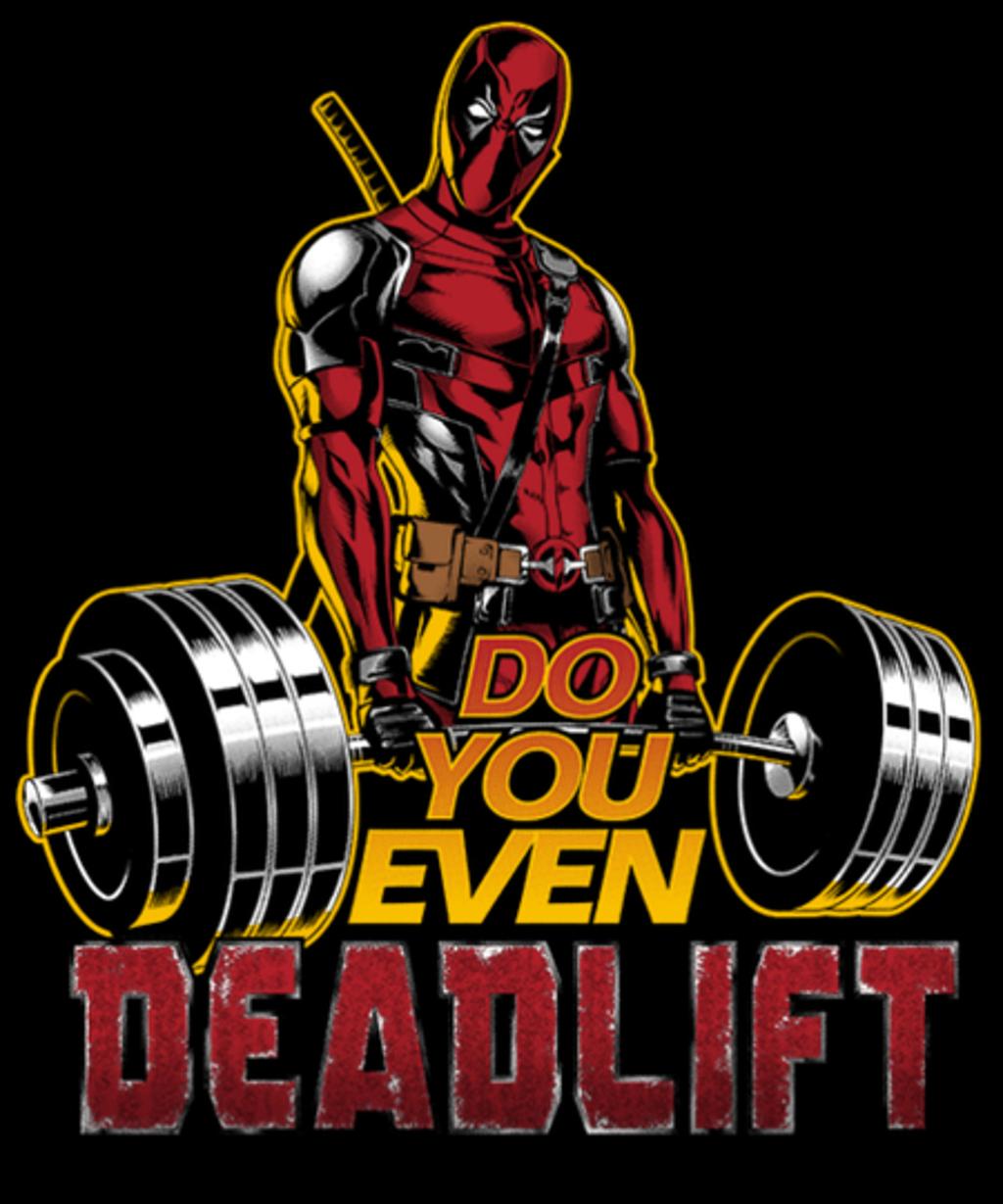 Qwertee: Deadlift