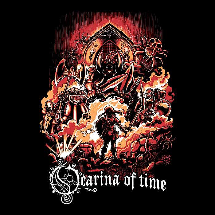 Once Upon a Tee: Ocarina of Legend