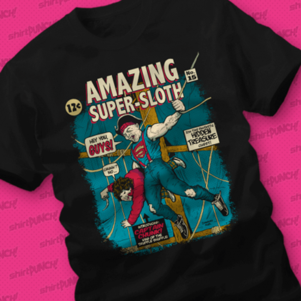 ShirtPunch: Amazing Super-Sloth