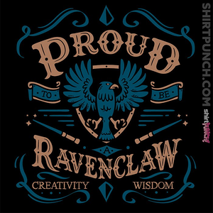 ShirtPunch: Proud to be a Ravenclaw