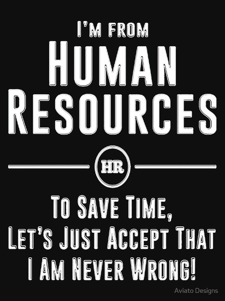 RedBubble: Human Resources HR Legends