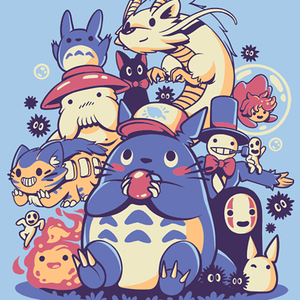 Qwertee: Creatures Spirits and friends