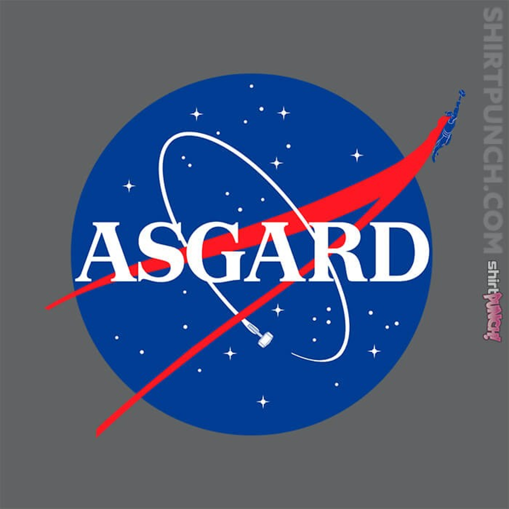 ShirtPunch: Asgard NASA