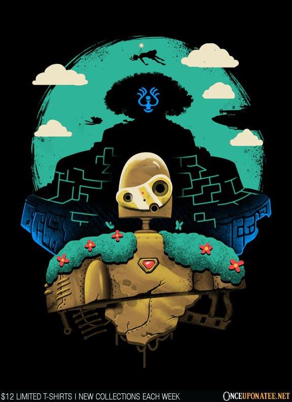 Once Upon a Tee: Sky Castle Automaton