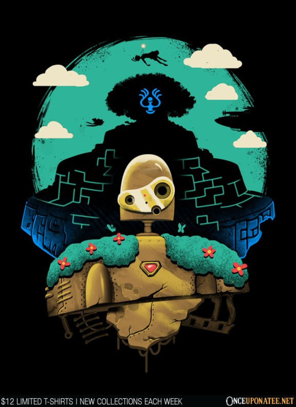 Once Upon a Tee: Sky Castle Automaton