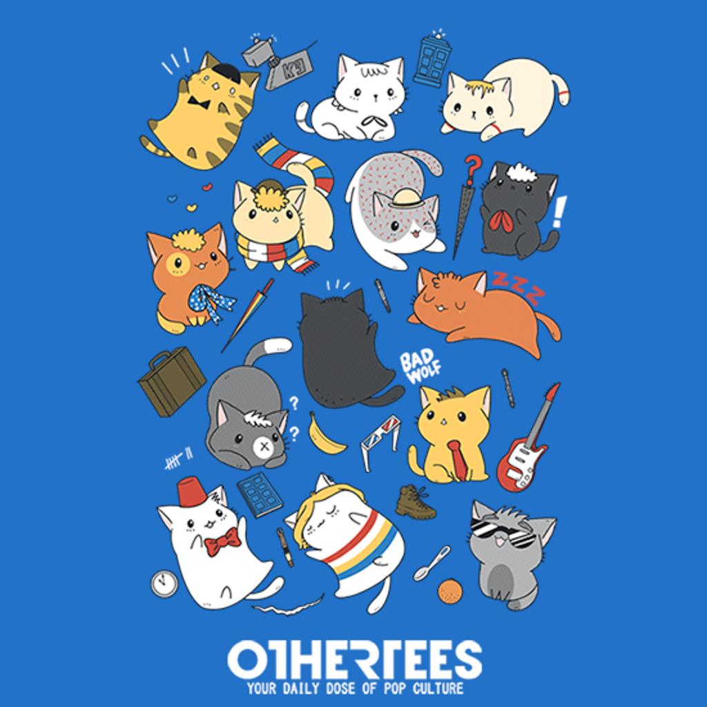 OtherTees: Time Kittens