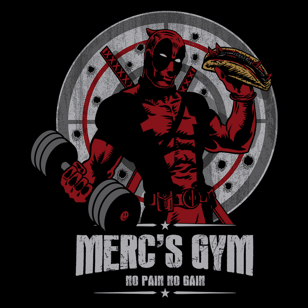 Pop-Up Tee: Merc's Gym