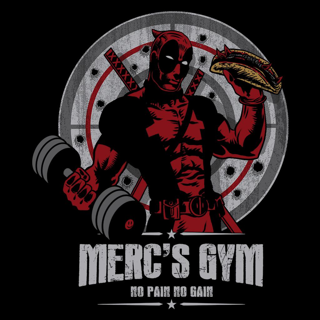 Pop-Up Tee: Merc's Gym