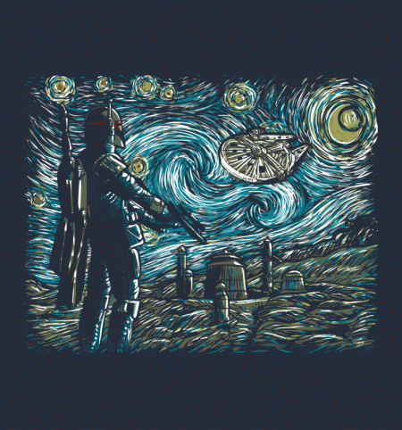 BustedTees: Starry Wars