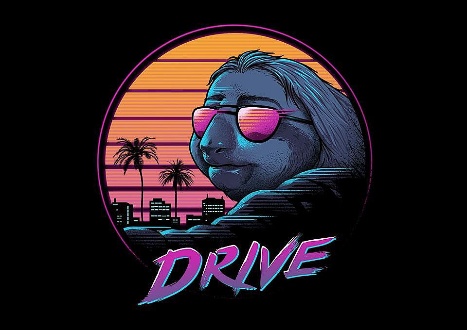 TeeFury: Slow Drive