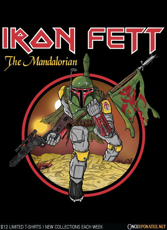 Once Upon a Tee: Iron Fett