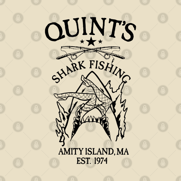 TeePublic: Quints Shark Fishing