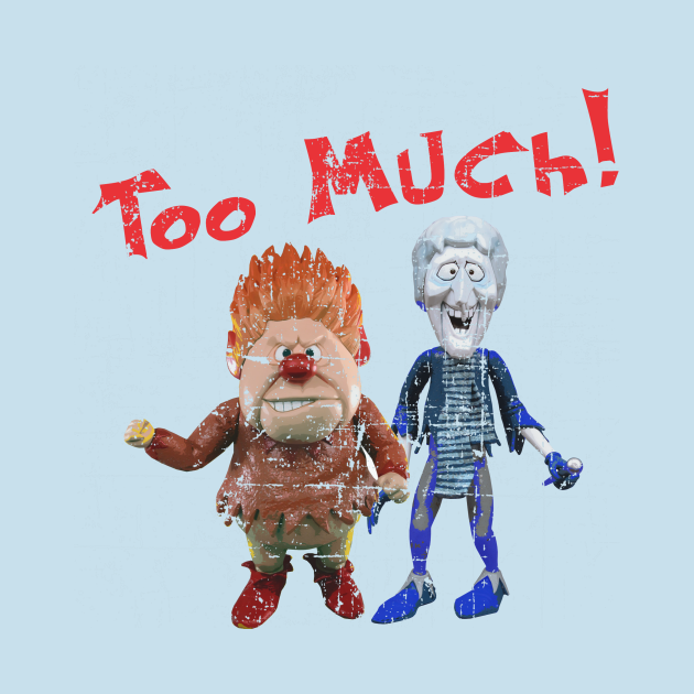 TeePublic: Heat Miser and Snow Miser from The Year Without a Santa Claus