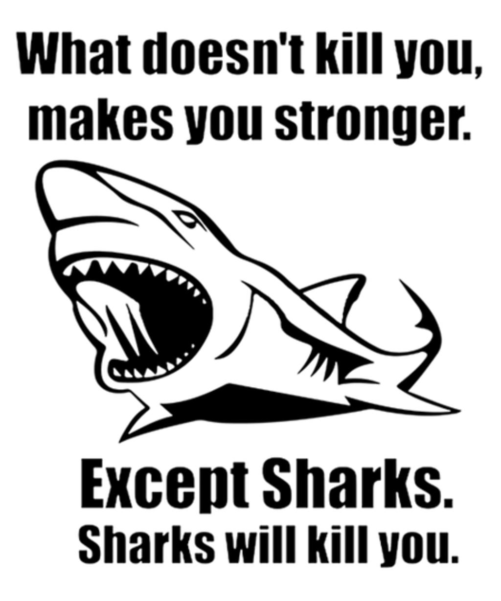 Qwertee: Shark