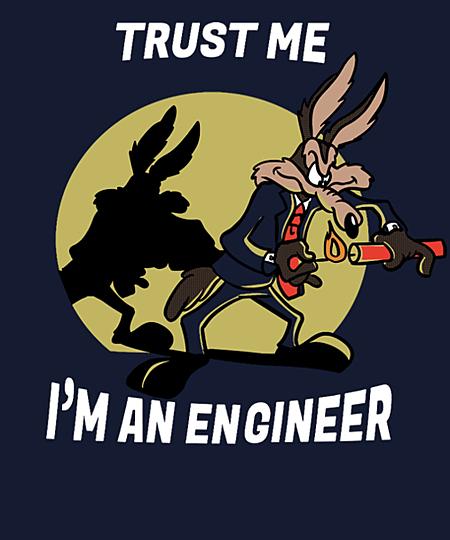 Qwertee: Trust me i'm an engineer