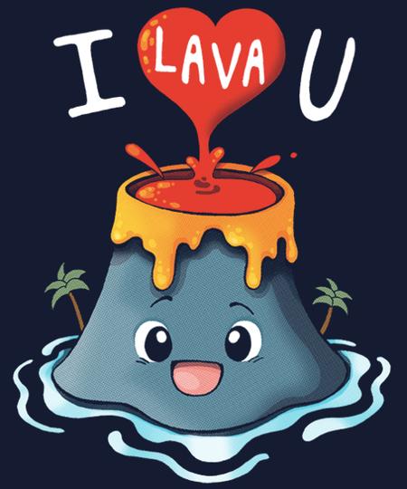 Qwertee: I Lava You