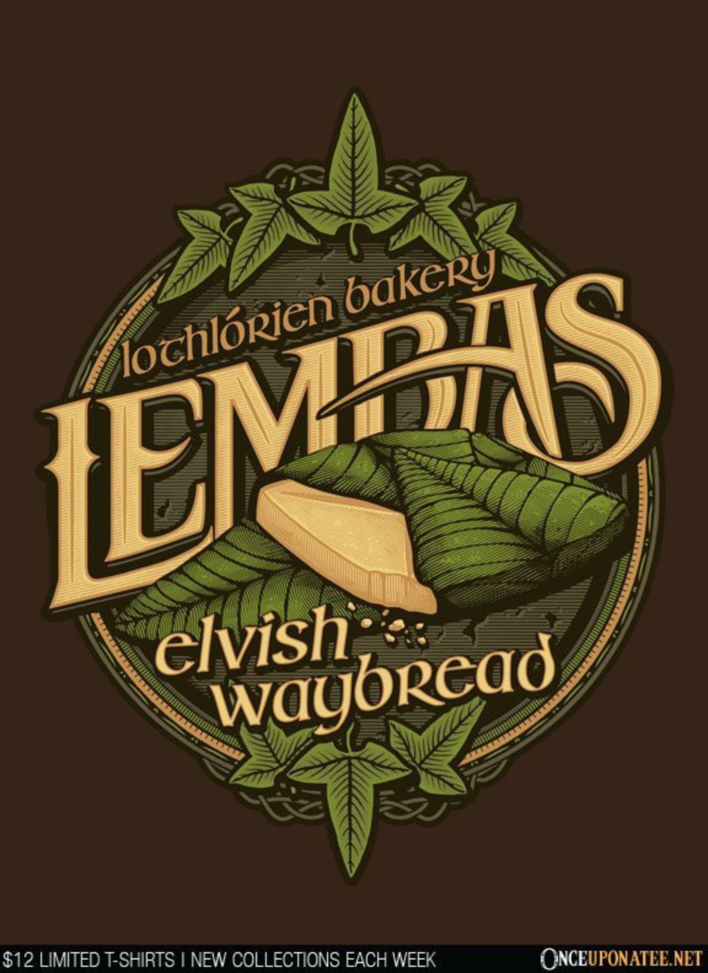 Once Upon a Tee: Lembas Bread