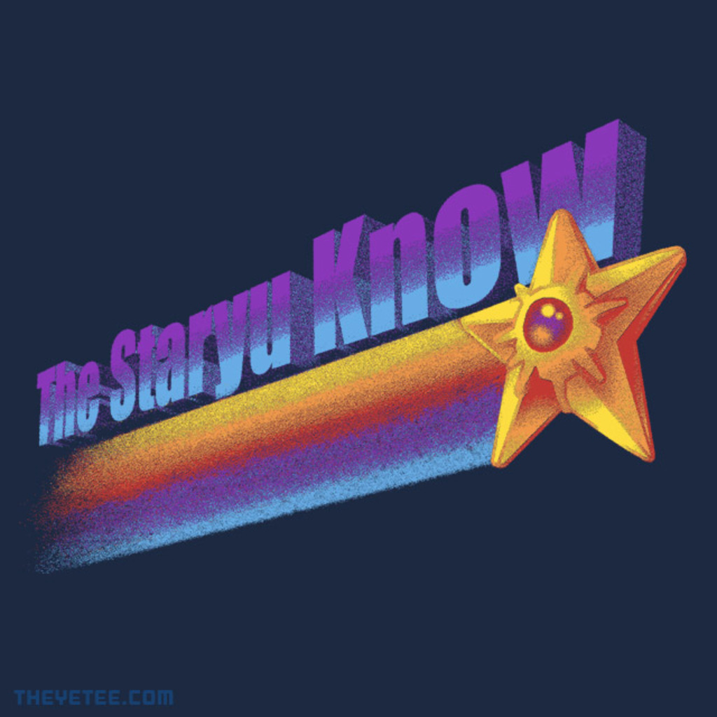 The Yetee: The Staryu Know!