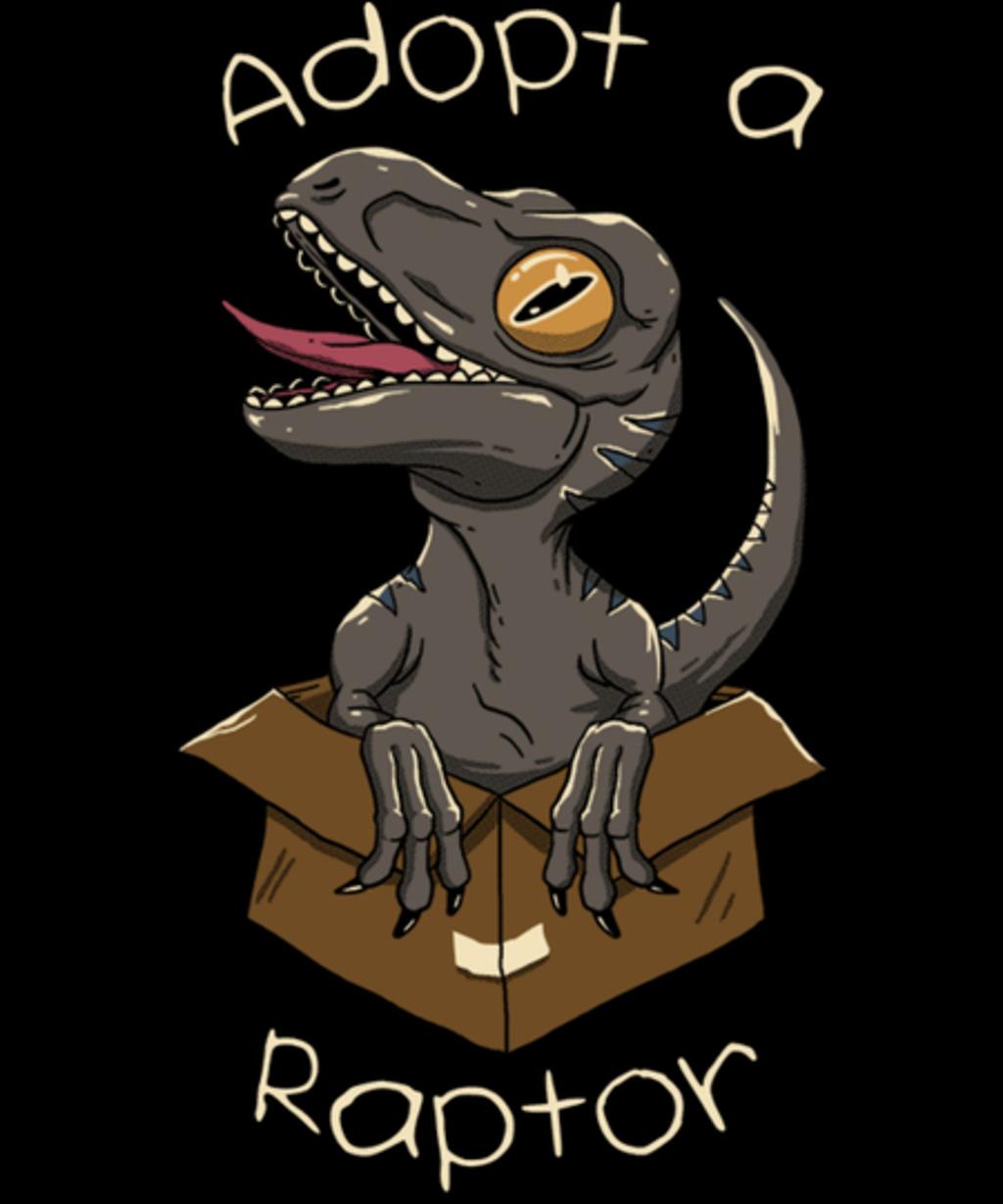 Qwertee: Adopt a Raptor