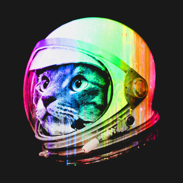 TeePublic: Astronaut Space Cat