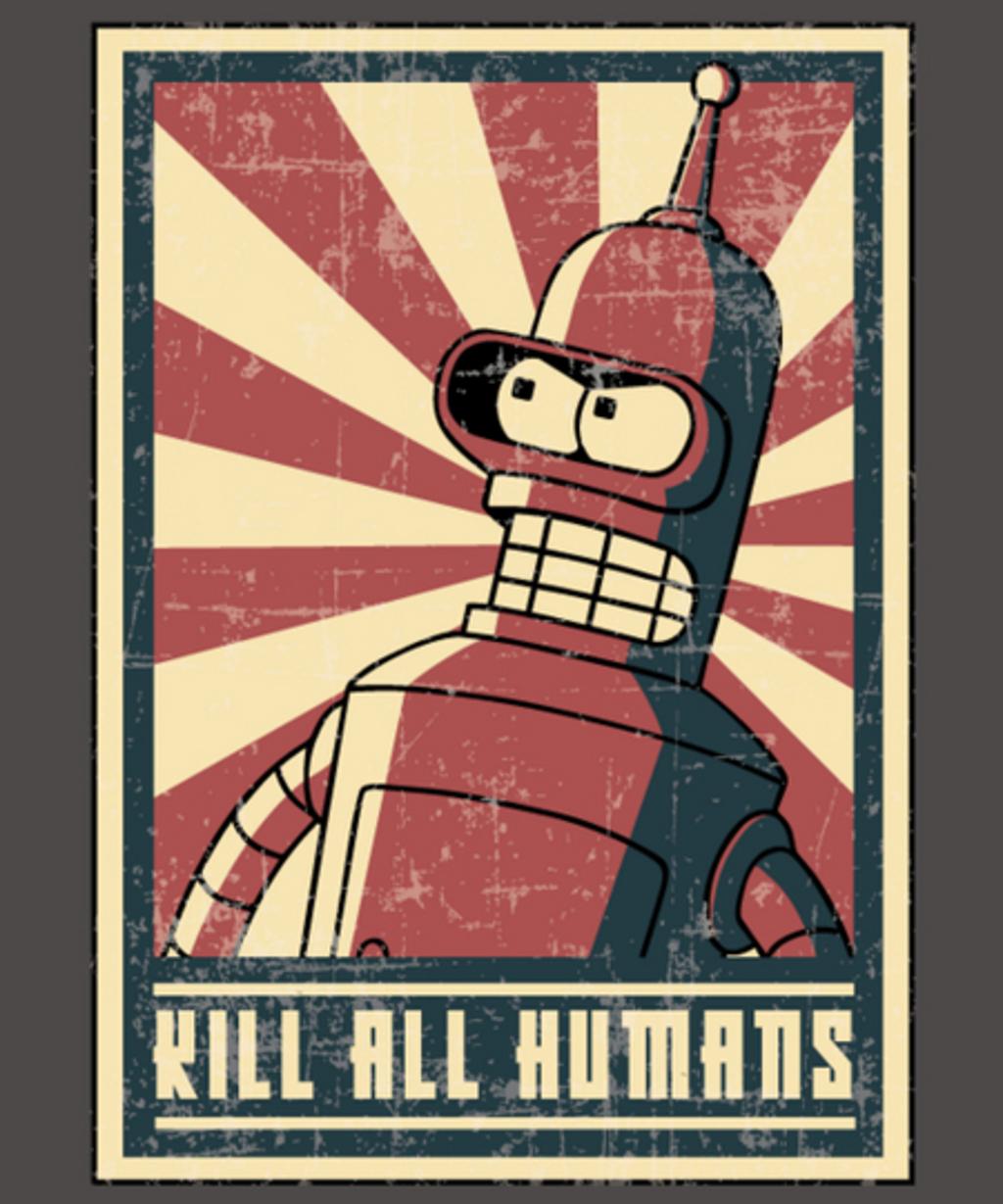 Qwertee: Kill all humans