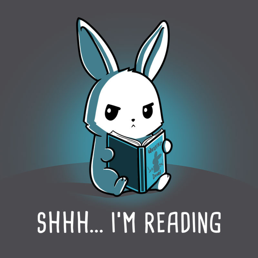 TeeTurtle: Shhh... I'm Reading