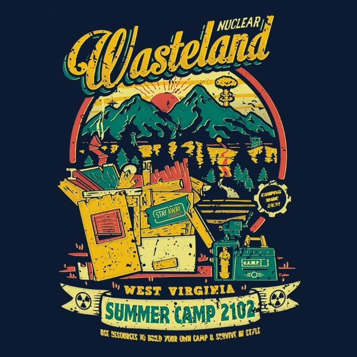 Once Upon a Tee: Nuclear Summer Camp
