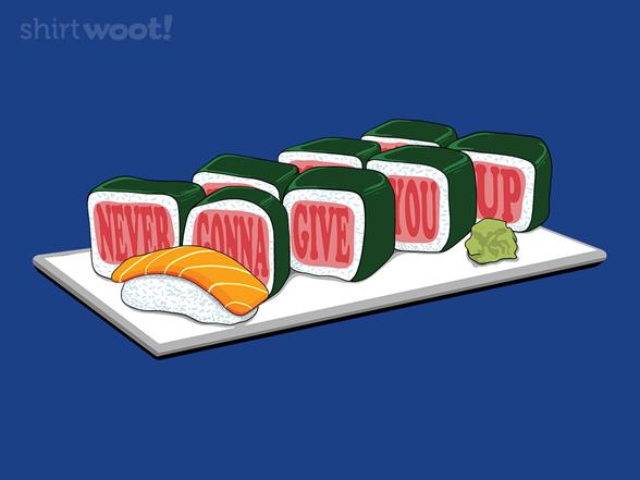 Woot!: Rick Roll with Nigiri