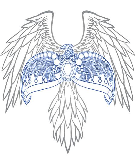 Qwertee: Diadem of Ravens