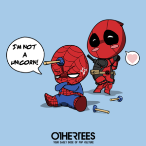 OtherTees: Unicorn Spidey
