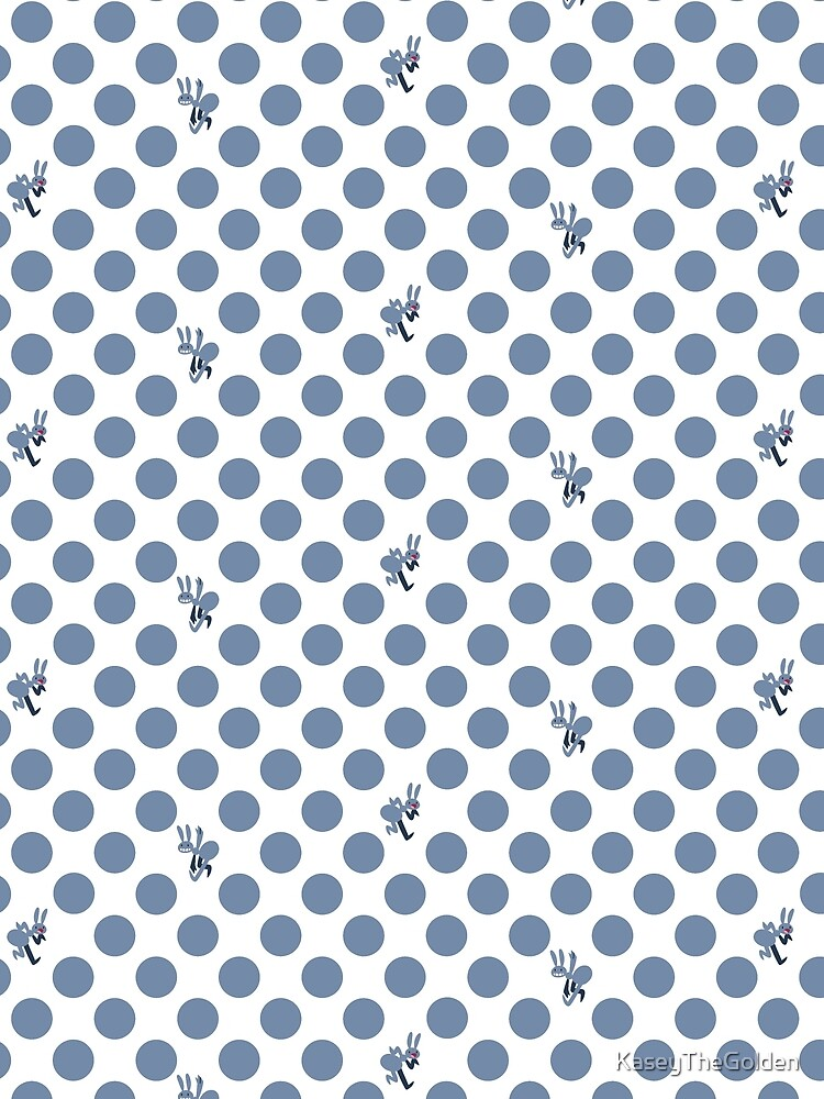 RedBubble: Polka Dot Ants (Blue)