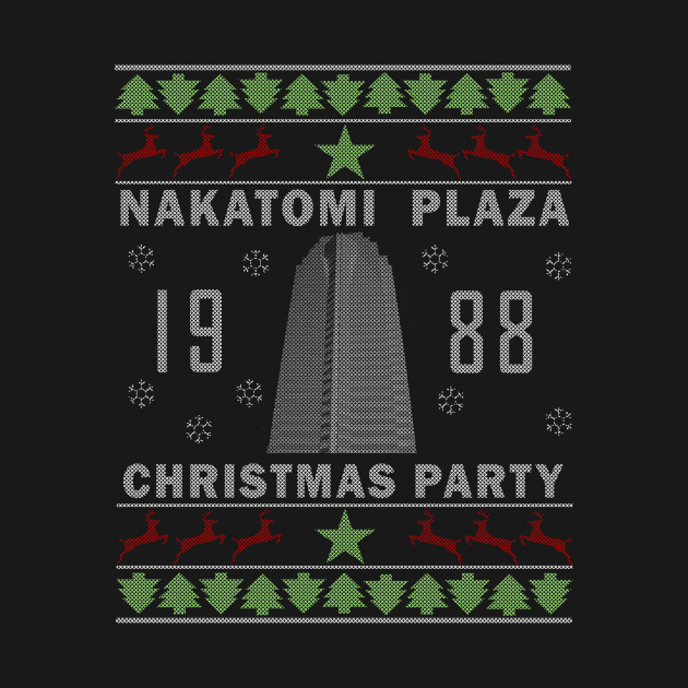 TeePublic: nakatomi plaza christmas party