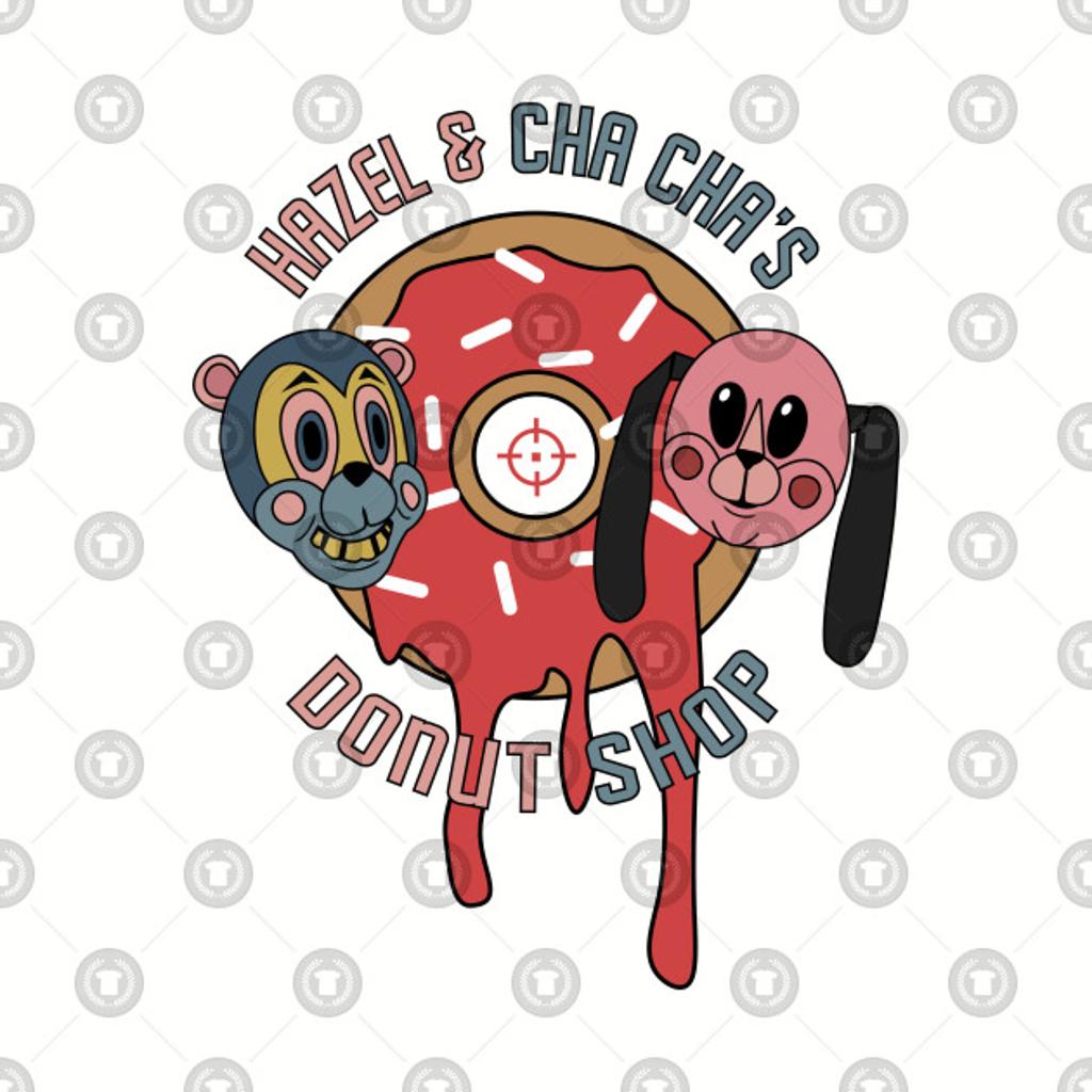 TeePublic: Hazel & Cha Cha's Donut Shop