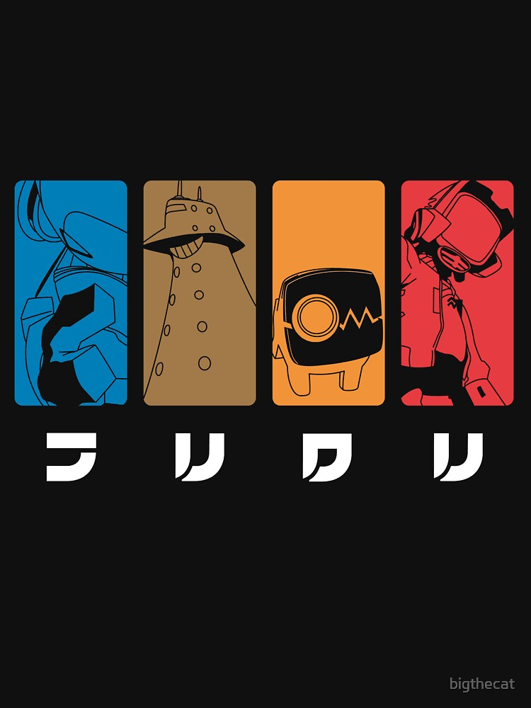RedBubble: FLCL