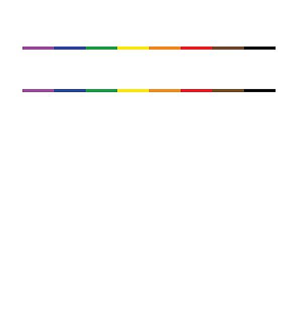 RedBubble: Black Lives Matter Pride Design (white text)
