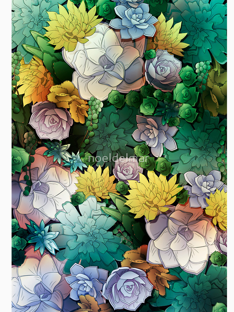 RedBubble: Succulent World