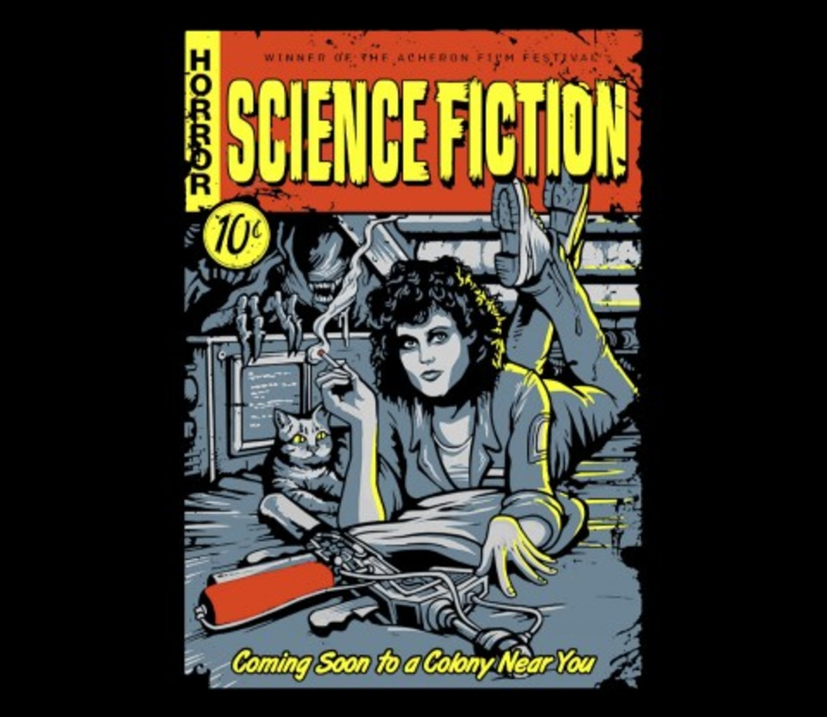 TeeFury: Pulp Science