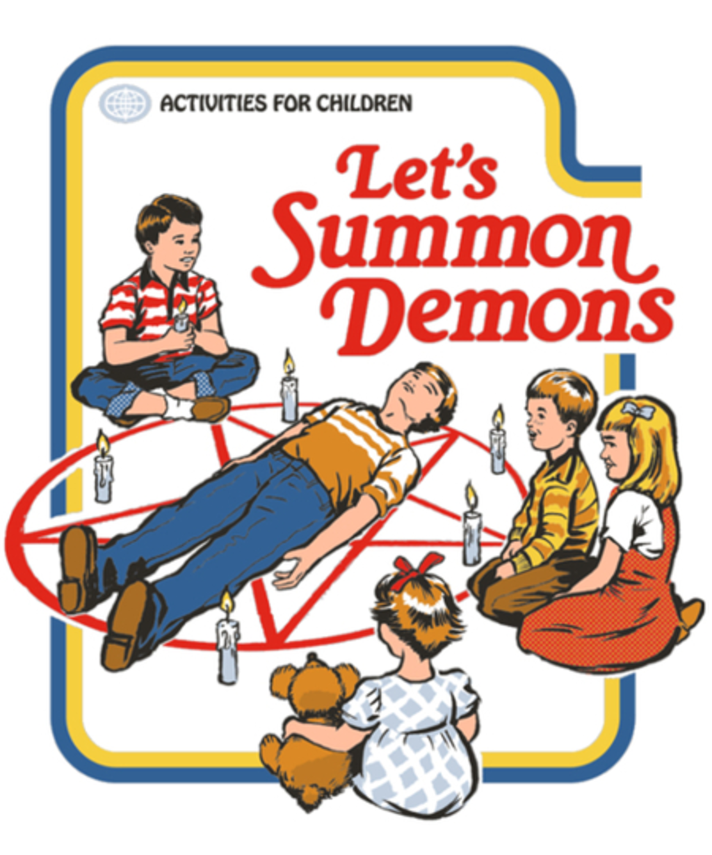 Qwertee: Let's Summon Demons