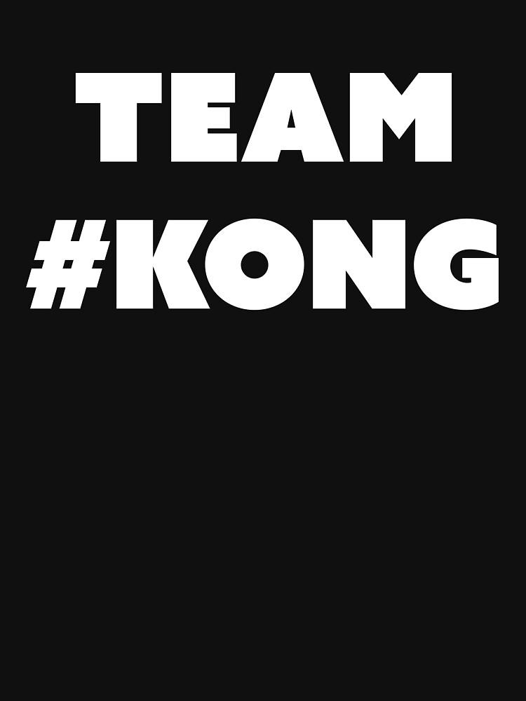 RedBubble: team kong - white