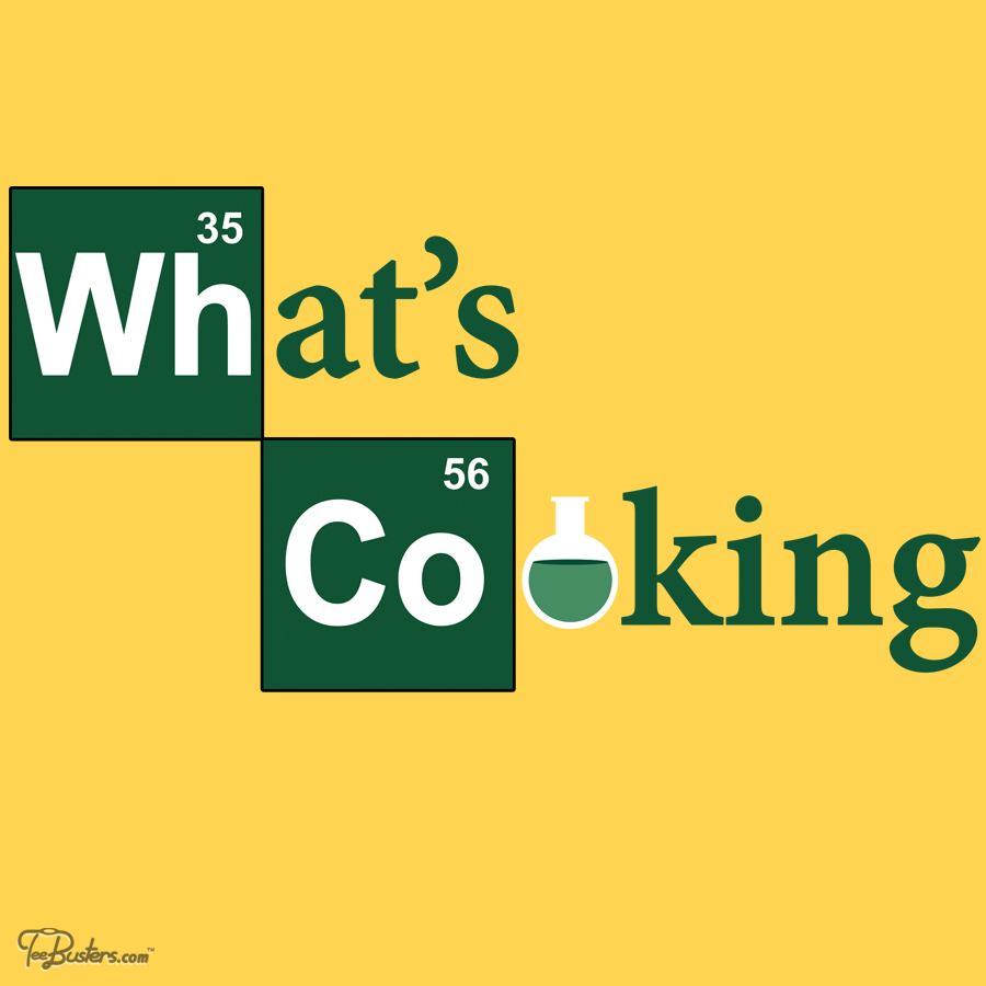 TeeBusters: What's Cooking