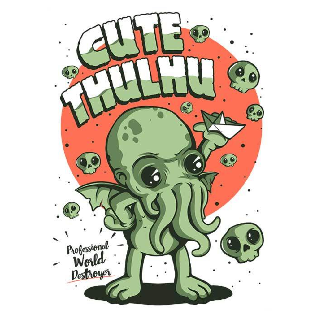 Once Upon a Tee: Cute-thulhu